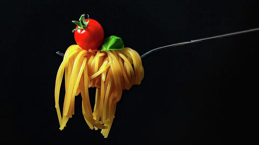 The Beauty Of Pasta Photograph