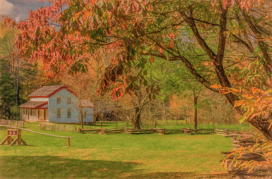 The Becky Cable Place in Autumn by Marcy Wielfaert
