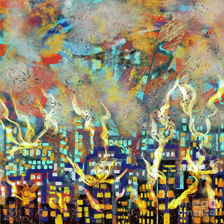 The Beirut Blast. Digital Art