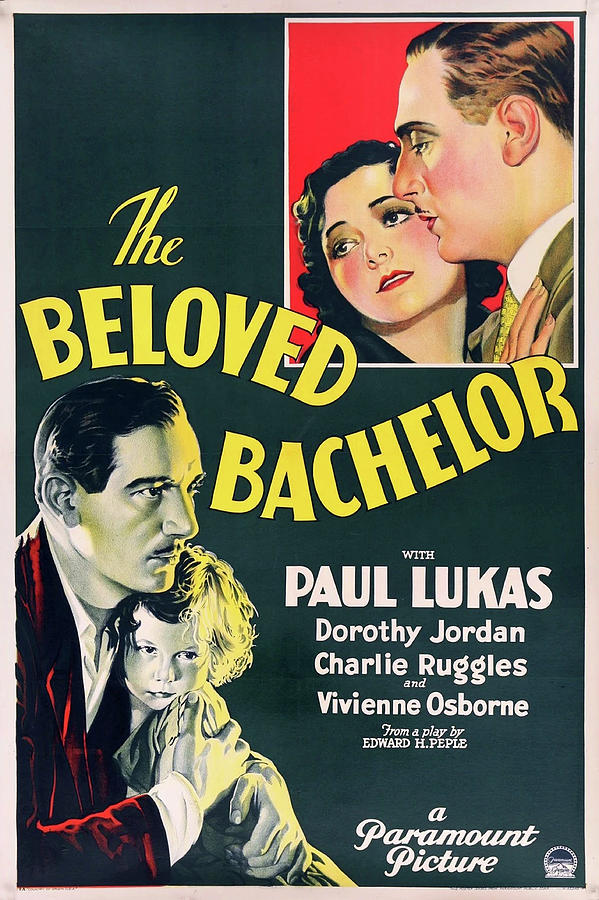 the Beloved Bachelor Movie Poster 1931 Mixed Media