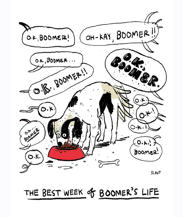The Best Week Of Boomers Life Drawing by Sara Lautman