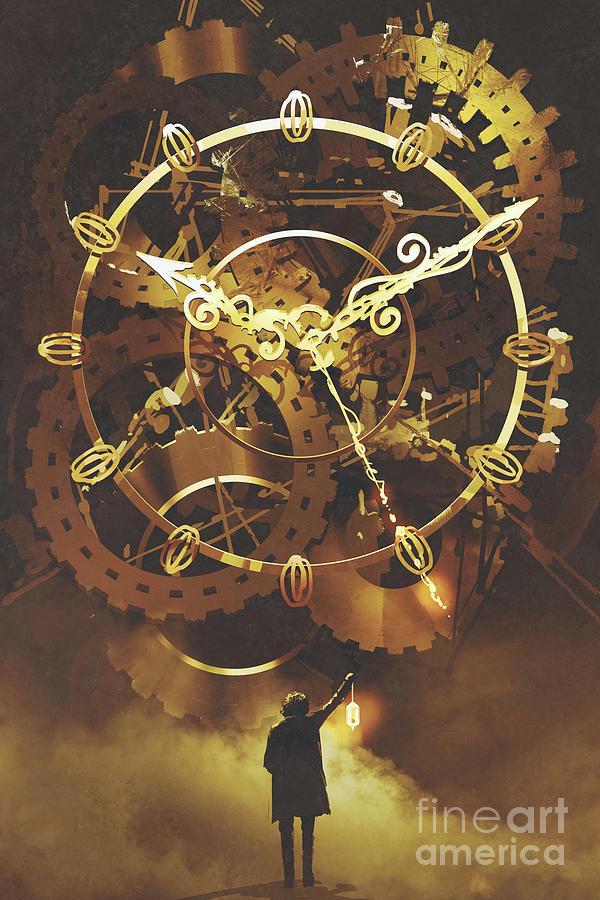 The Big Golden Clockwork Painting