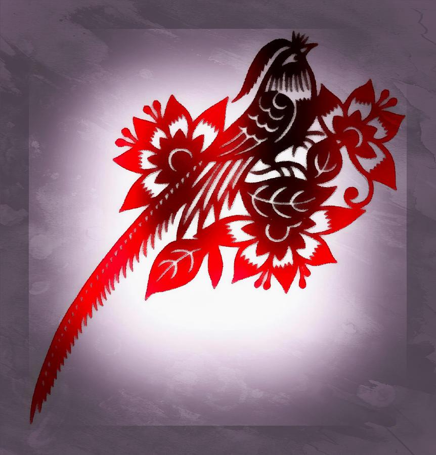 The Bird Of Paradise Digital Art
