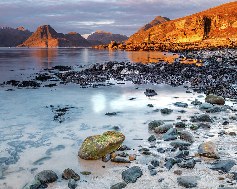 The Black Cuillins From Elgol Photograph