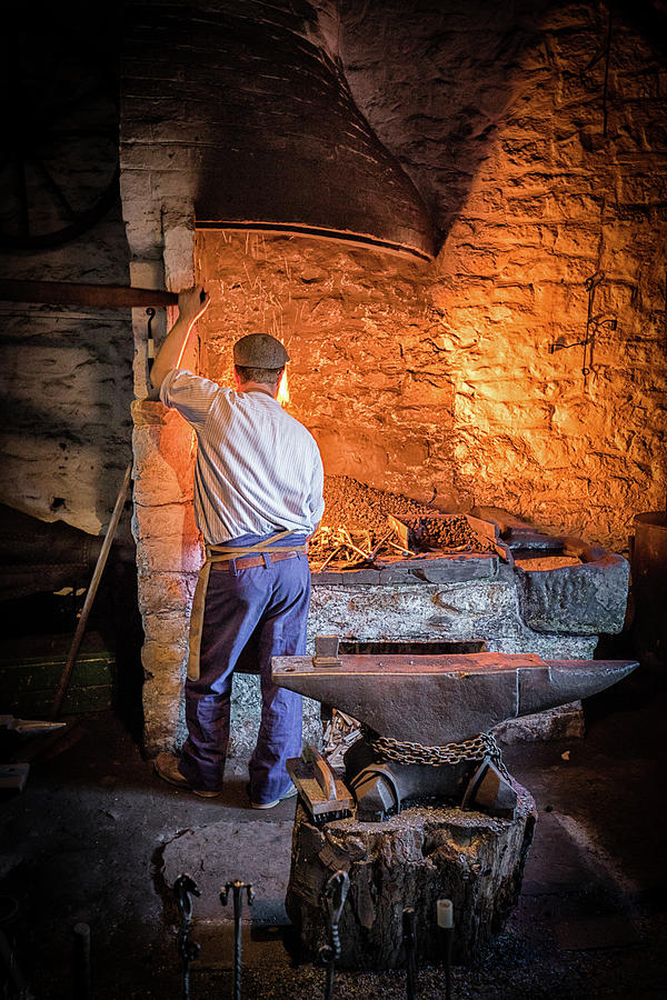 The Blacksmith 2 by Nigel R Bell