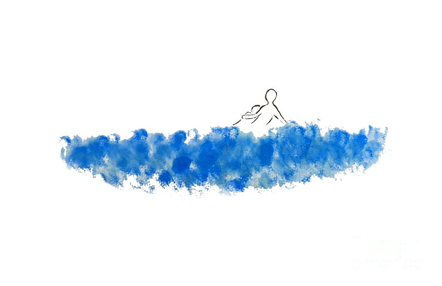 The Blue Cloud Drawing