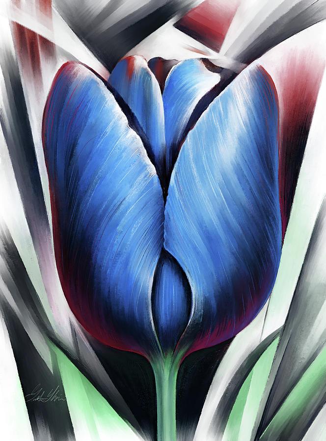 The Blue Tulip by Garth Glazier