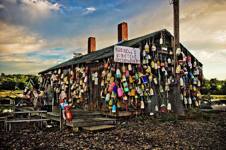Boathouse Photograph - The Boathouse by Sandra Marie Photography