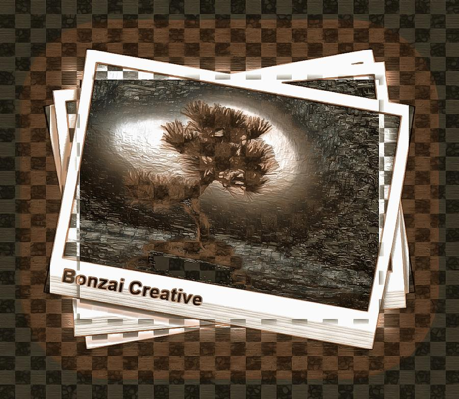 Bonzai Tree Digital Art - The Bonzai Effect by Mario Carini
