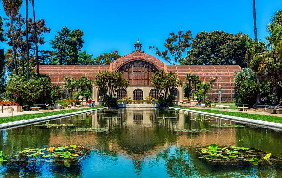 The Botanical Building In Balboa Park San Diego Photograph By Mountain Dreams