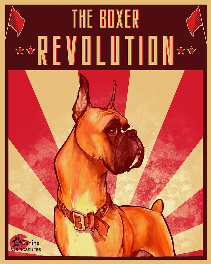 The Boxer Revolution Drawing