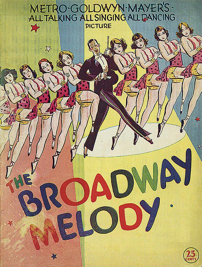 the Broadway Melody, 1929 Mixed Media