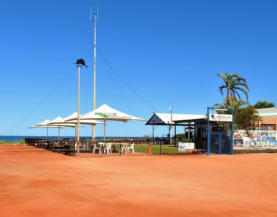 Australia Photograph - The Broome Fishing Club by Athol KLIEVE