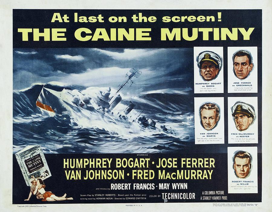 the Caine Mutiny -1954 Mixed Media