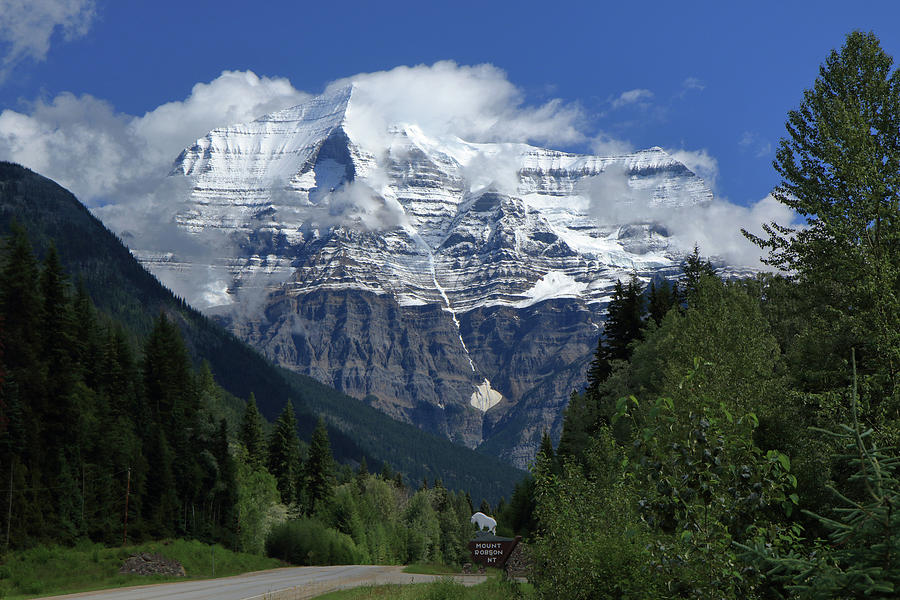 The Canadian Rockies' Mt. Robson by Steve Wolfe