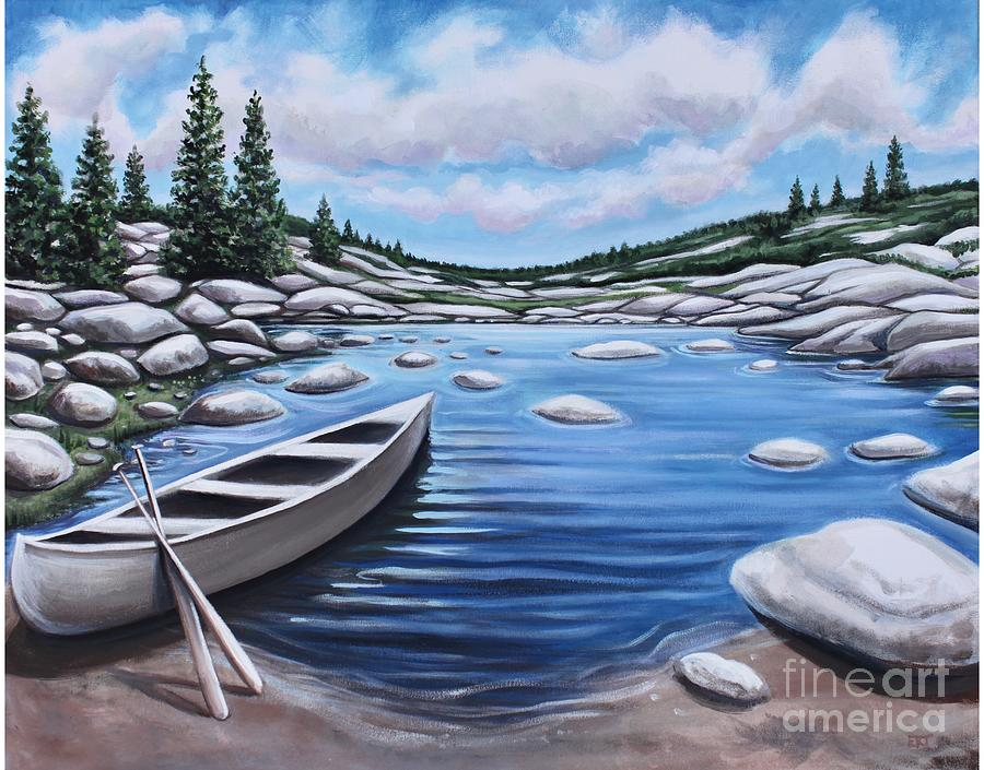 The Canoe by Elizabeth Robinette Tyndall