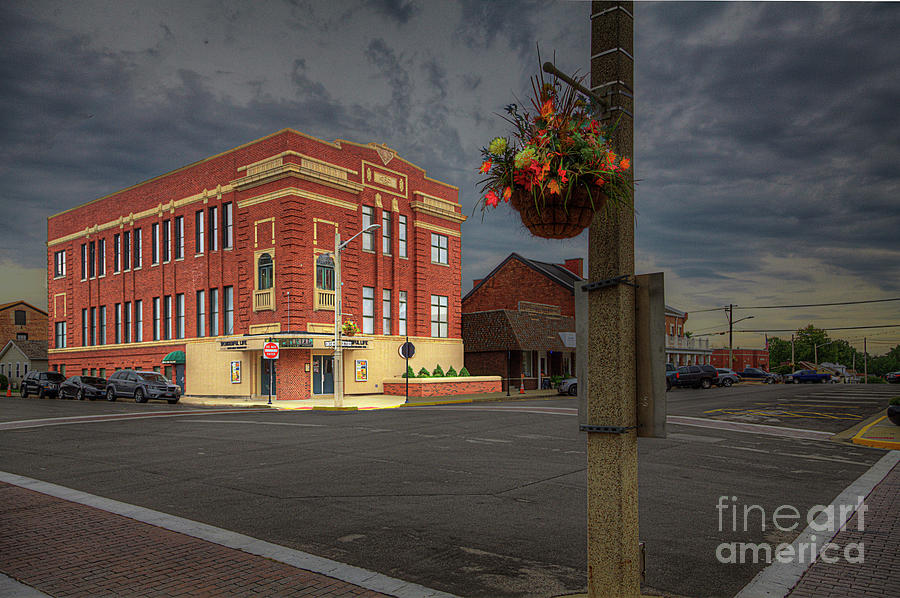 Travel Photograph - The Capitol Theatre  by Larry Braun