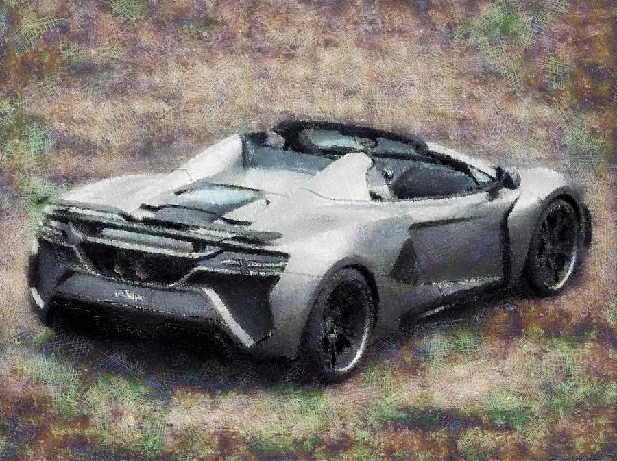 The Car We Like To Drive Digital Art