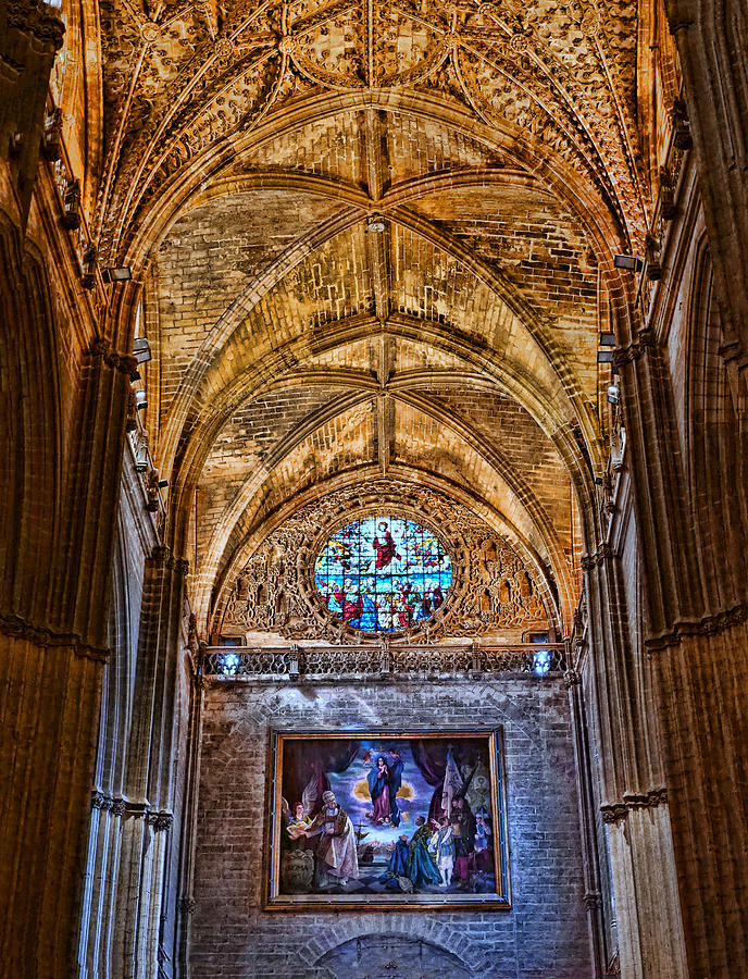 The Cathedral of Seville # 10 by Allen Beatty