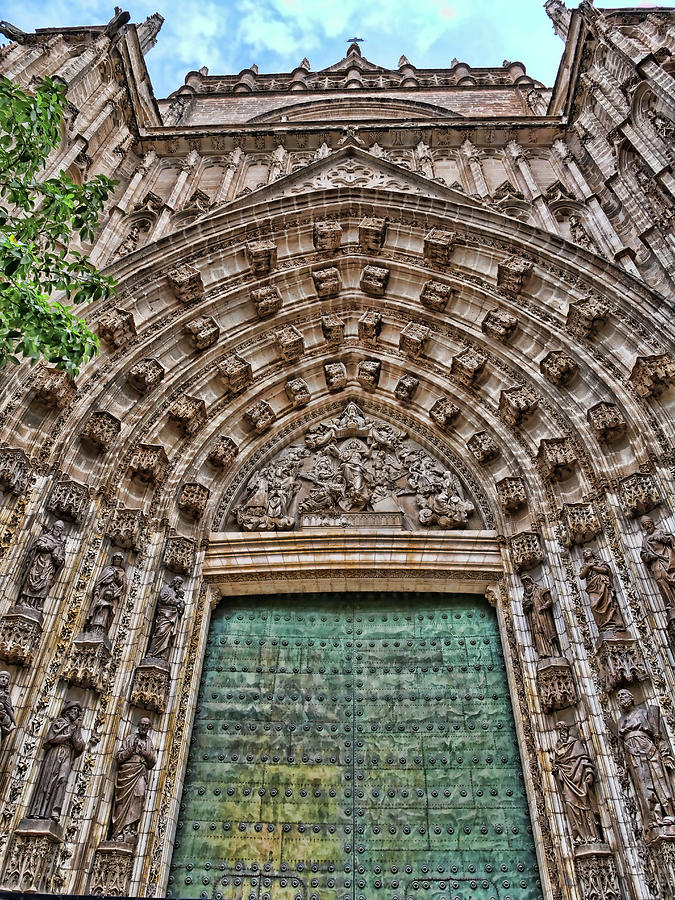 The Cathedral of Seville # 4 by Allen Beatty