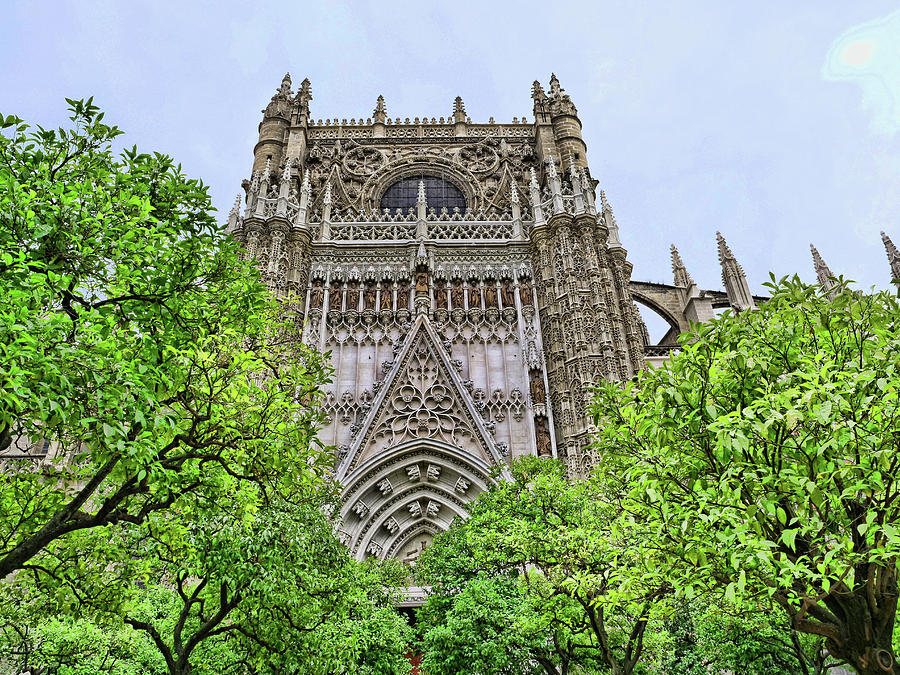 The Cathedral of Seville # 5 by Allen Beatty