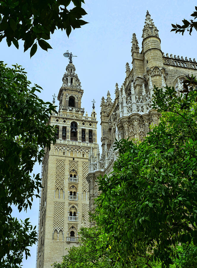 The Cathedral of Seville # 6 by Allen Beatty
