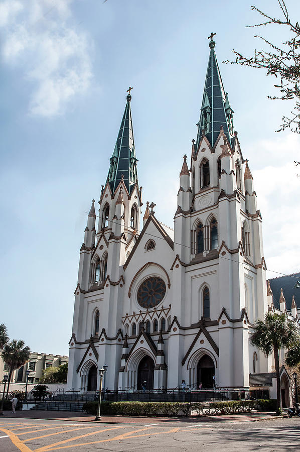 The Cathedral Of St. John The Baptist Photograph