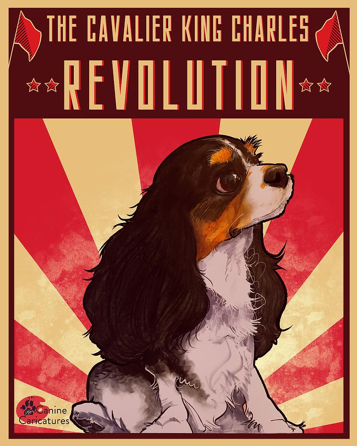 The Cavalier King Charles Revolution Drawing