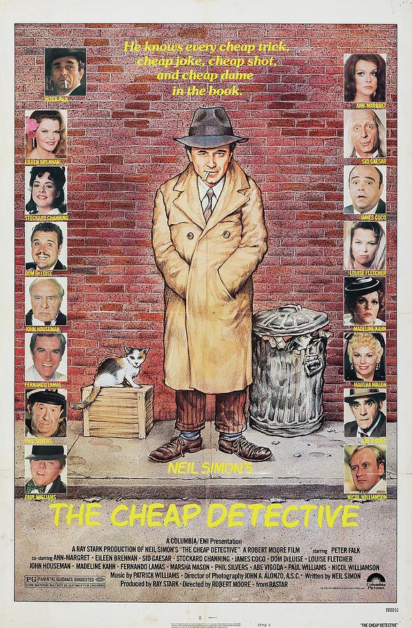 the Cheap Detective - 1978 Mixed Media