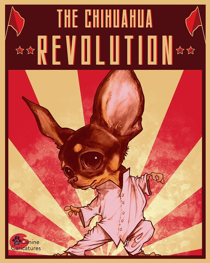 The Chihuahua Revolution Drawing