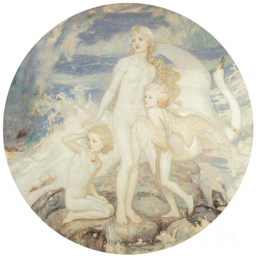 The Children Of Lir 1914 Painting