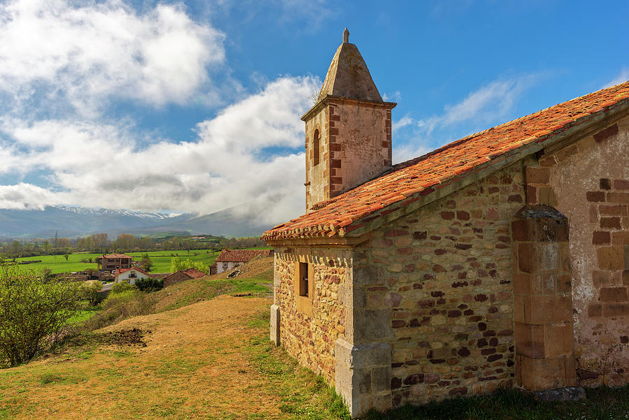 The church of San Andres in Paracuelles, Cantabria by Vicen Photography