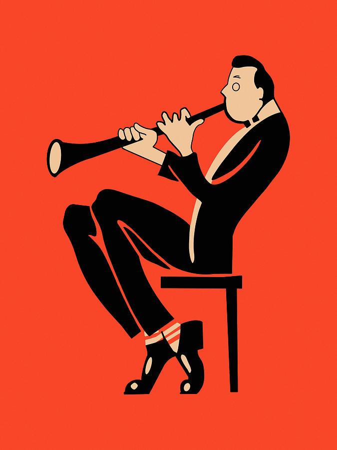 Clarinet Photograph - The Clarinetist by Mark Rogan