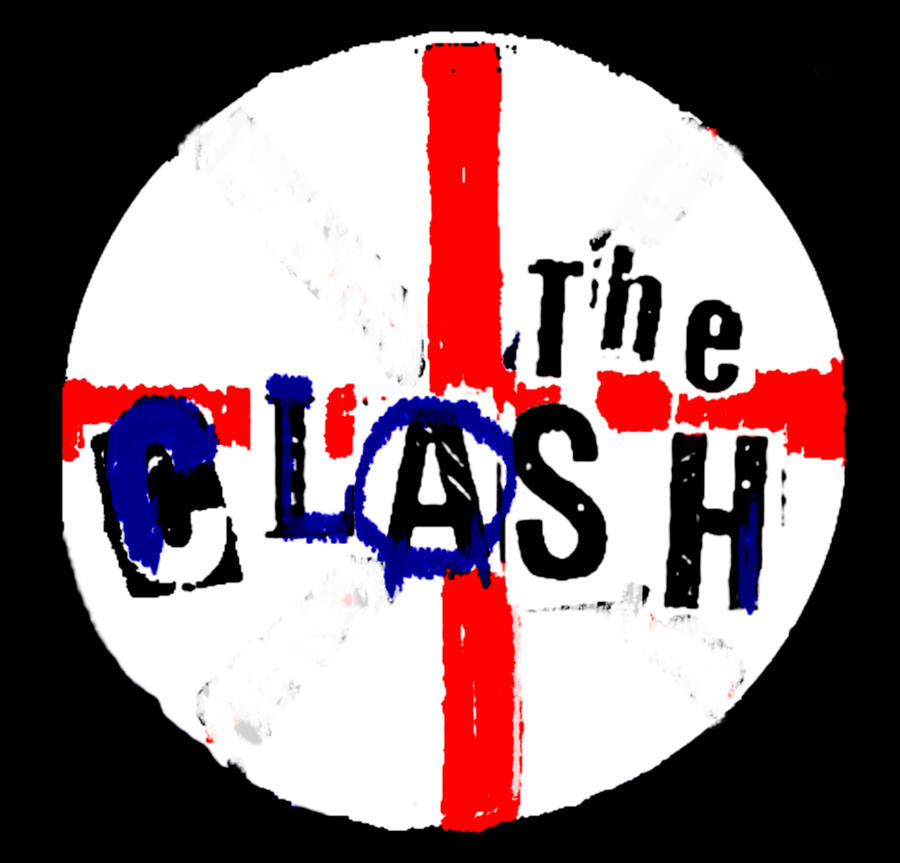 The Clash Button Badge Painting