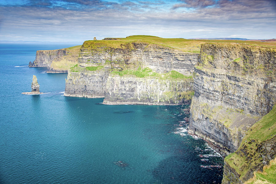 The Cliffs Of Moher Photograph - The Cliffs Of Moher by Rob Hemphill