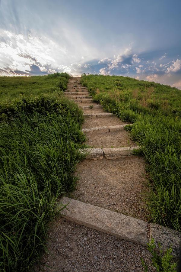 The Climb is Worth It by Scott Bean