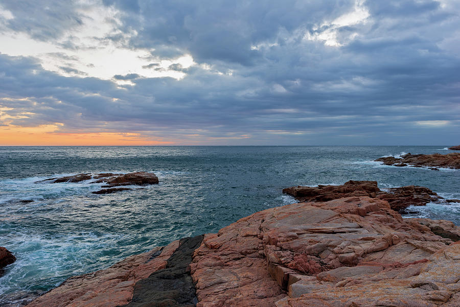 The Coast Of Begur At Dawn On The Costa Brava Photograph
