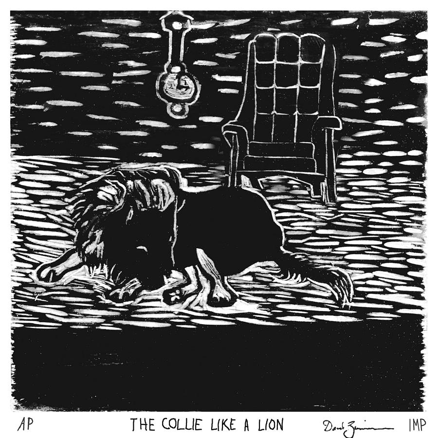 The Collie Like A Lion by David Zimmerman