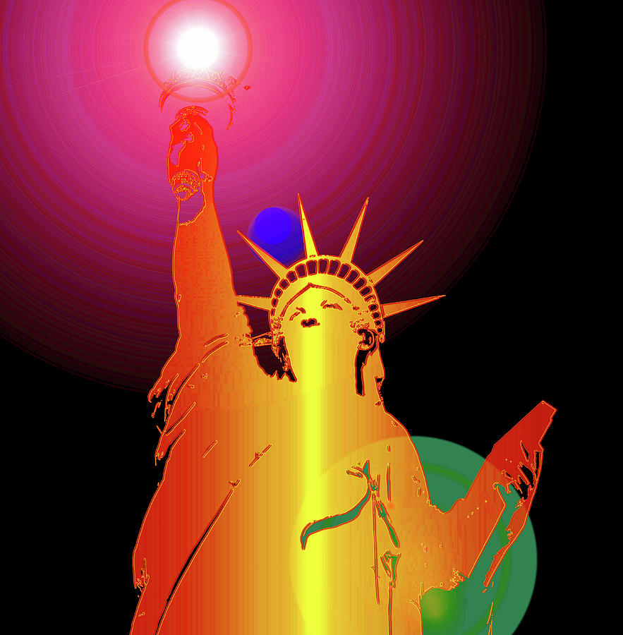 The Colors Of Liberty Digital Art