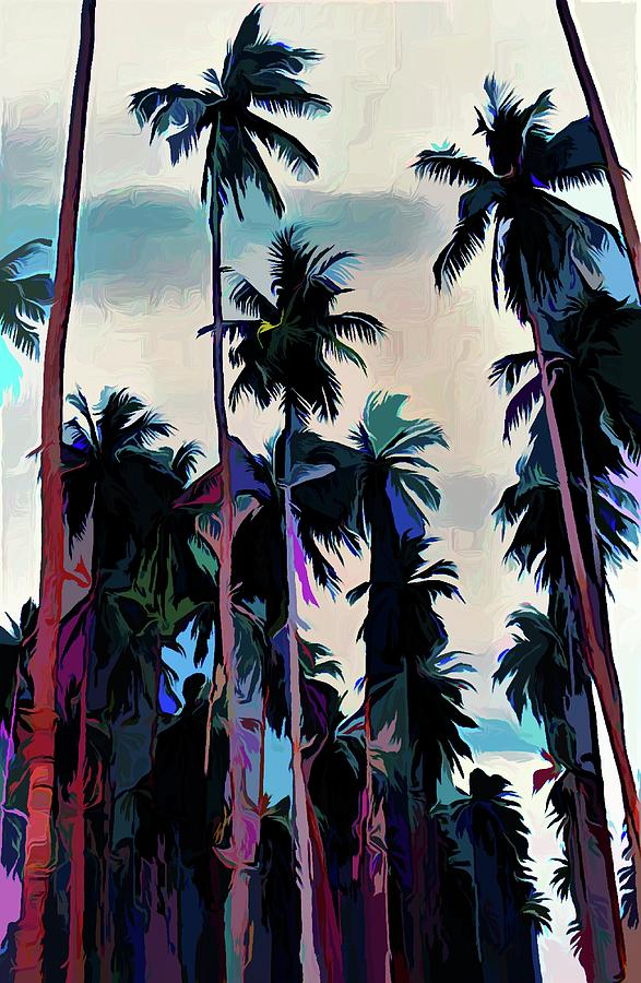 The Colour Of Palms Solomon Islands by Joan Stratton