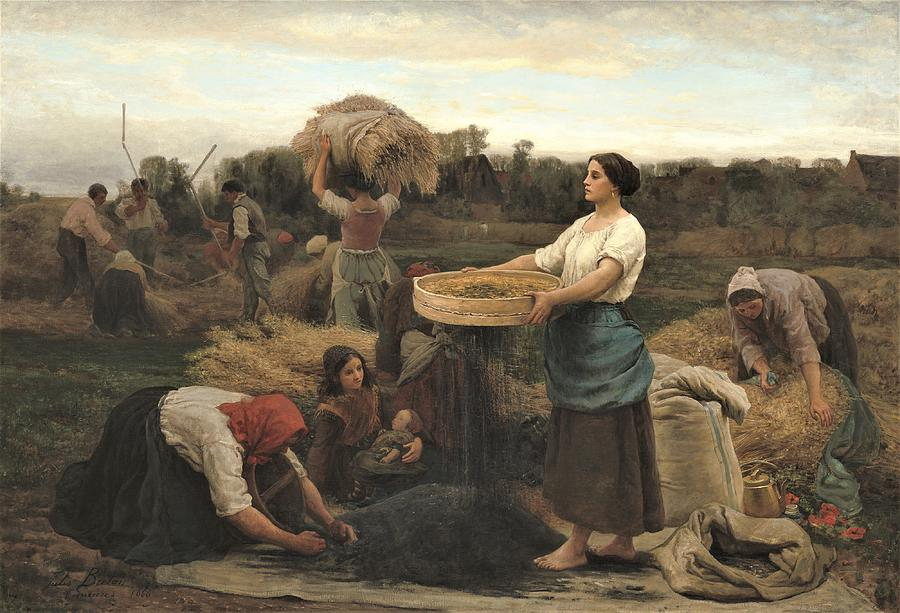 The Colza  Rapeseed Painting