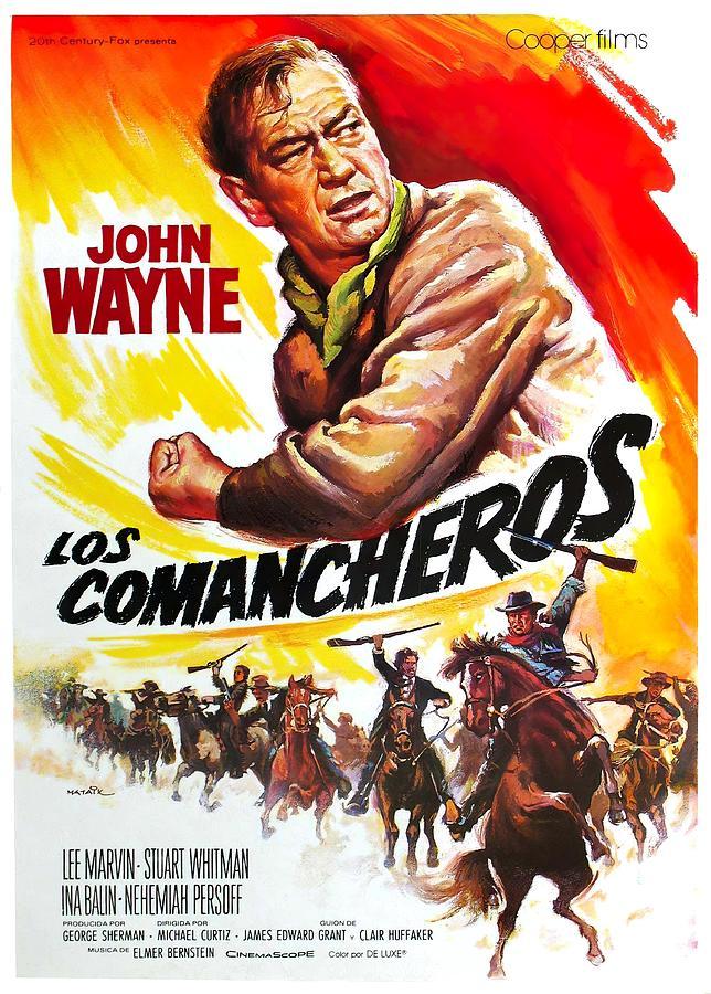 the Comancheros, With John Wayne, 1961 Mixed Media