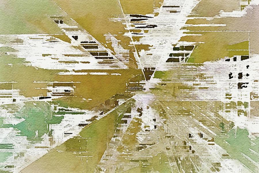 The Conergence Digital Art by David Hansen