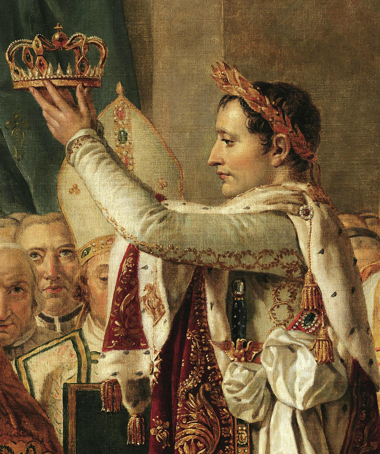 Jacques-louis David Painting - The Coronation Of Emperor Napoleon Bonaparte, 1807 by Jacques-Louis David