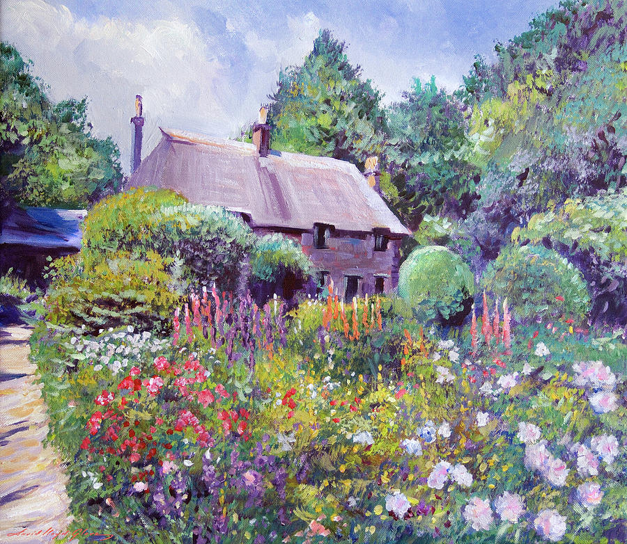 The Cotswold Cottage Garden Painting