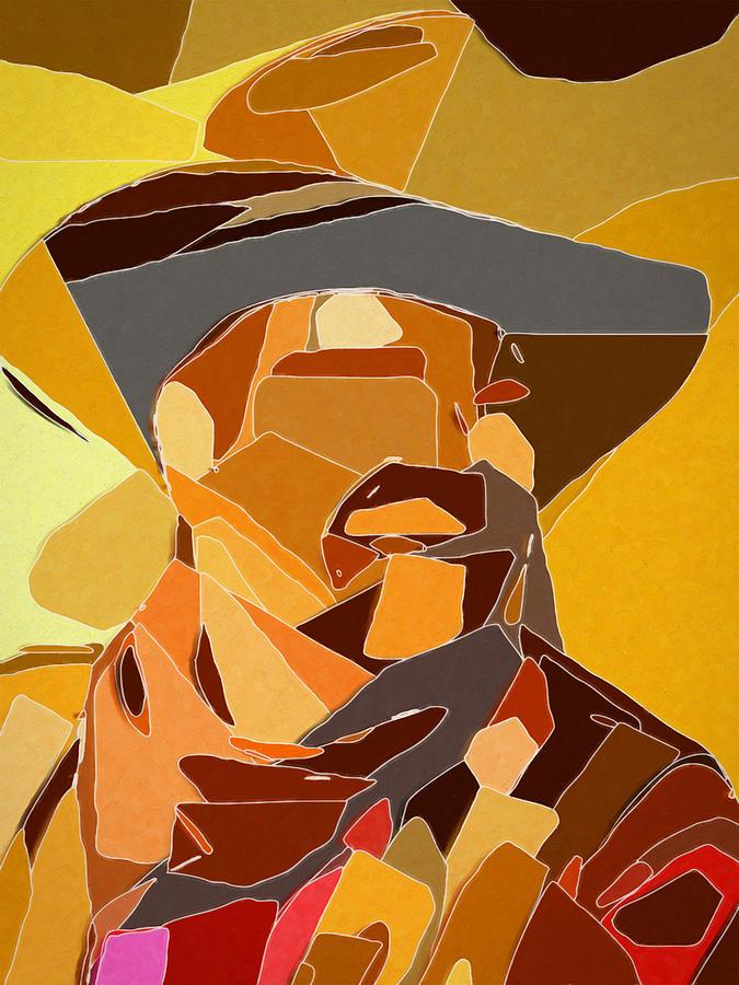 The Cowboy Digital Art by David Hansen