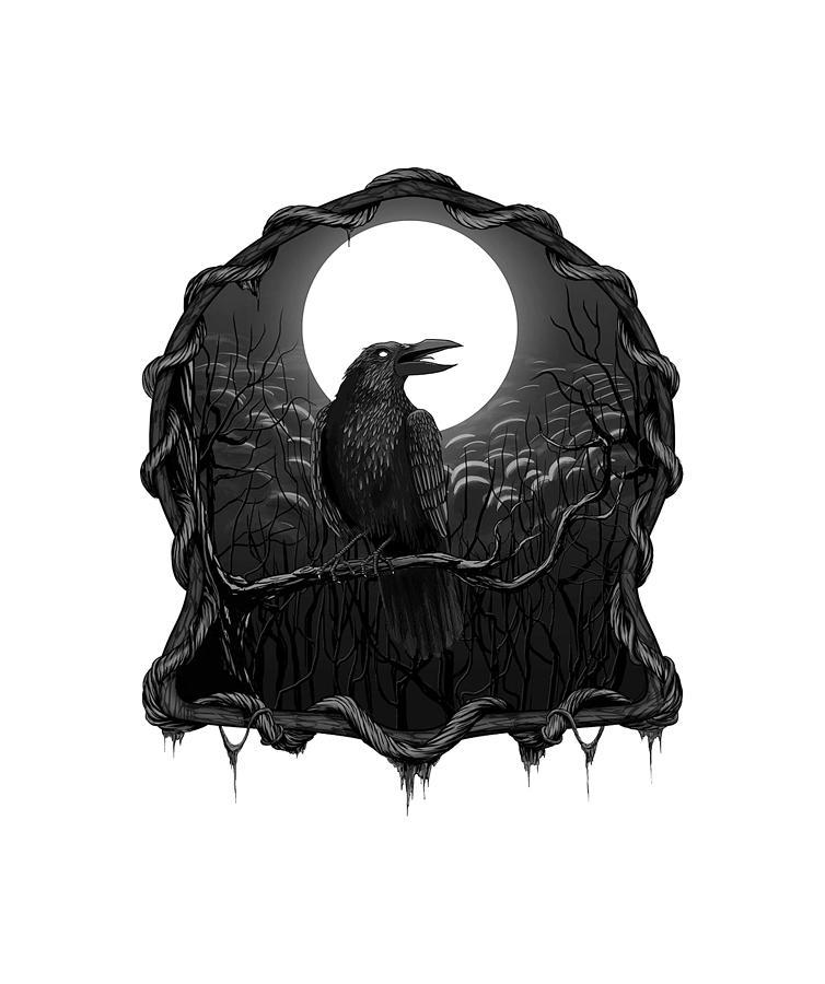 The Crows Digital Art