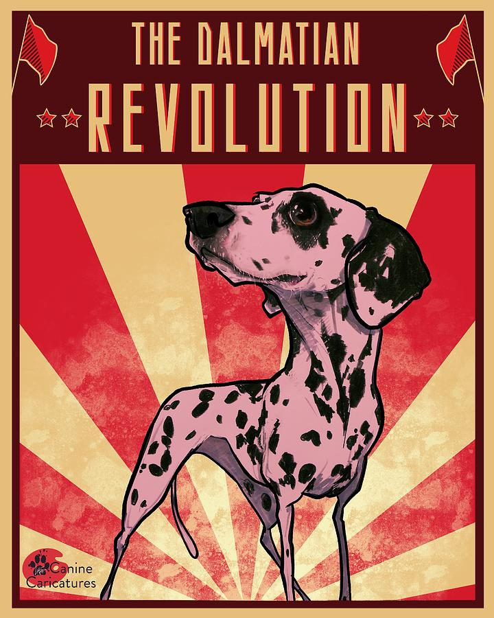 The Dalmatian Revolution Drawing