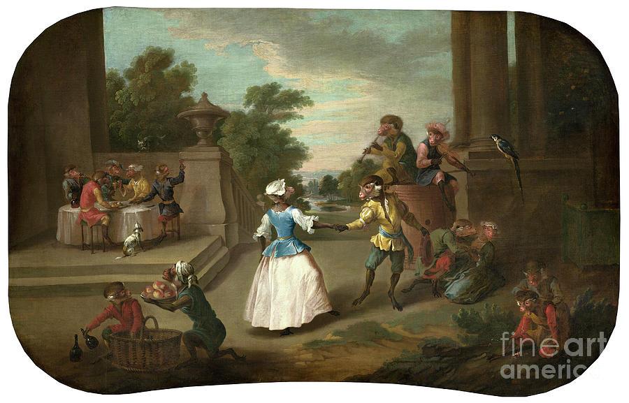 The Dance, c1739 by Christophe Huet