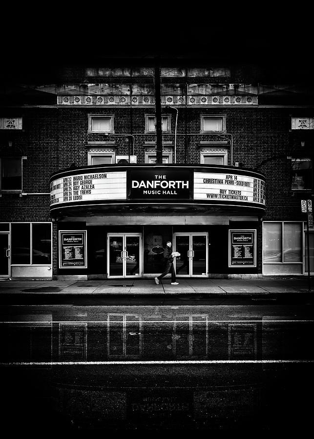 The Danforth Music Hall Toronto Canada No 1 Reflection Photograph